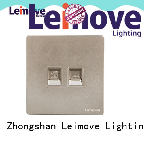 Leimove stainless steel phone socket free delivery for sale