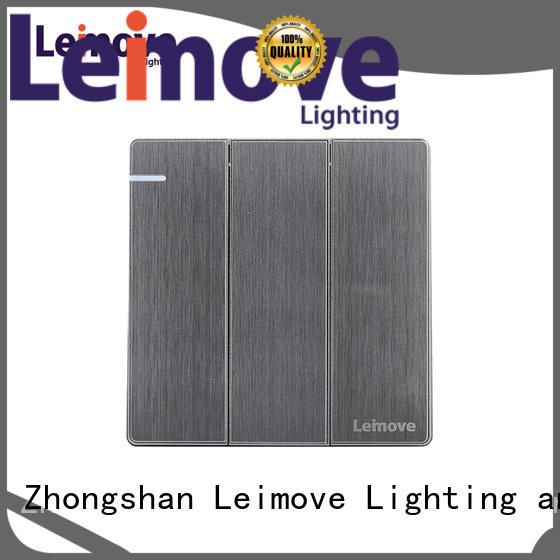 Leimove durable residential light switches top manufacturer for wholesale