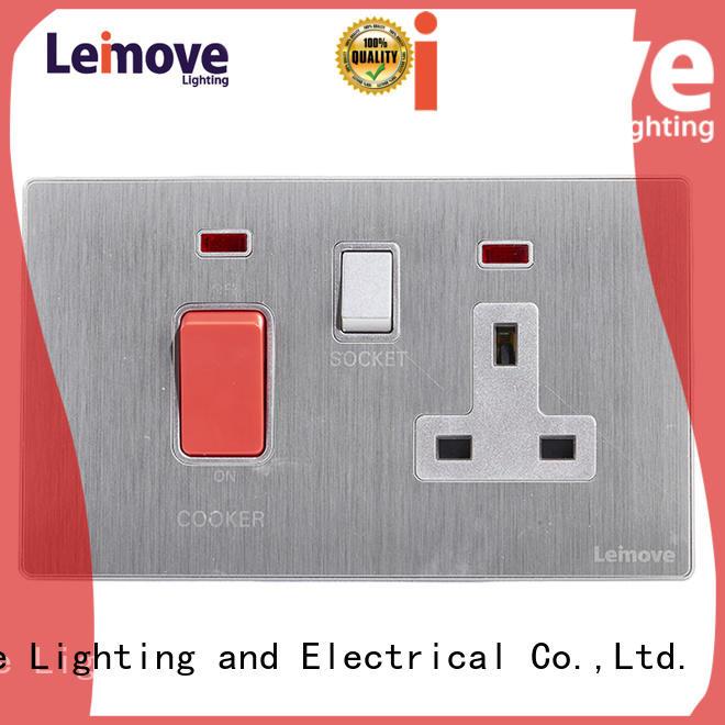 Leimove custom power socket ODM factory price