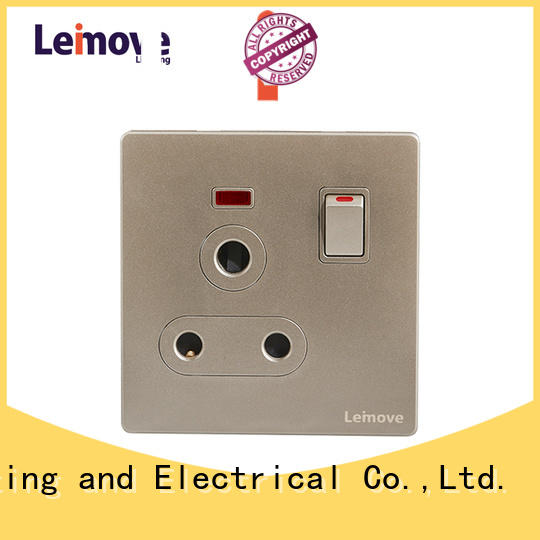 sand stone black plug sockets lingmai series OEM factory price