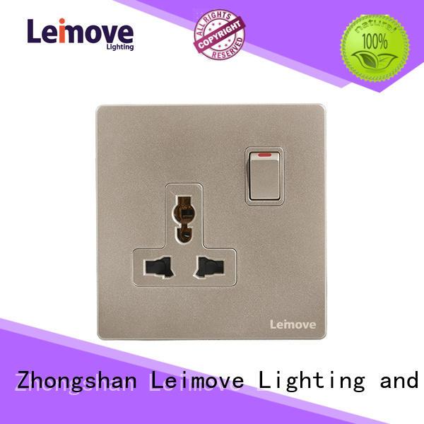 Leimove custom plug and socket OEM custom