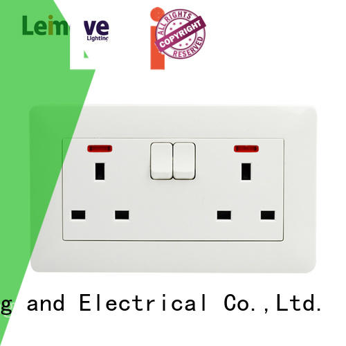 Leimove multi-functional wall plug socket fine workmanship for sale