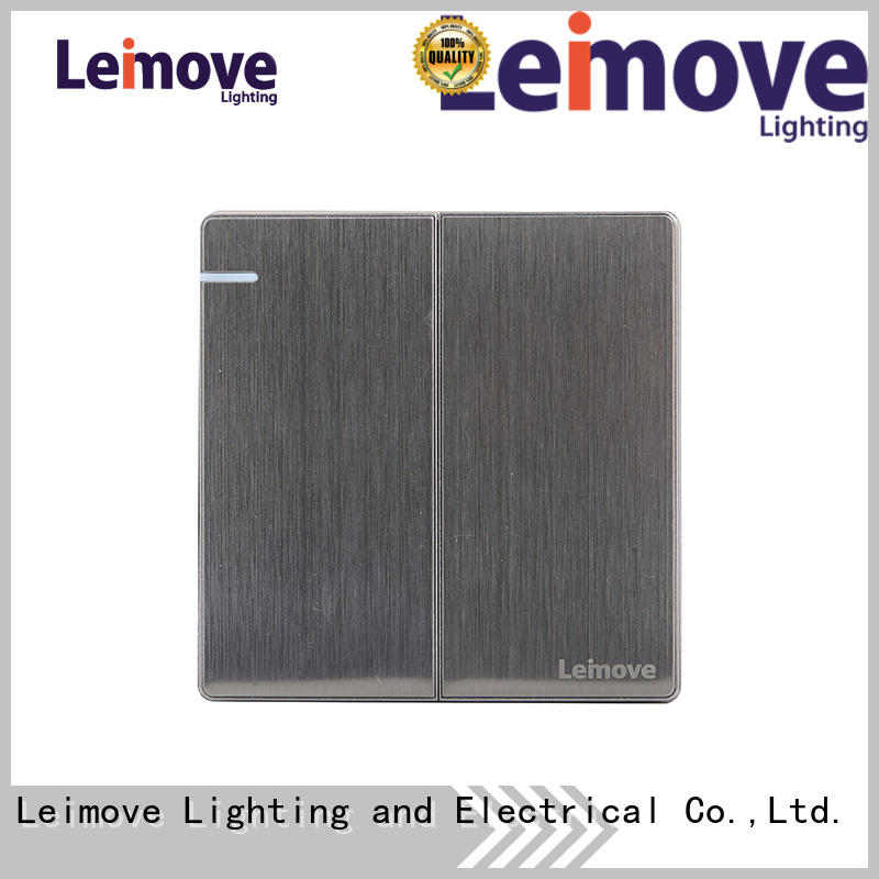Leimove sandstone gold compact light switch bulk order for decoration