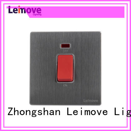 sandstone gold household light switch feather white for wholesale Leimove