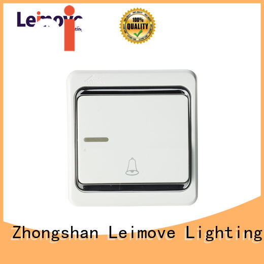 gang wall bell switches and sockets Leimove