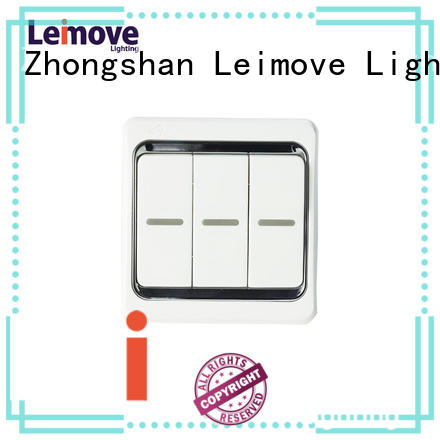 Leimove Brand one gang way bell switches and sockets