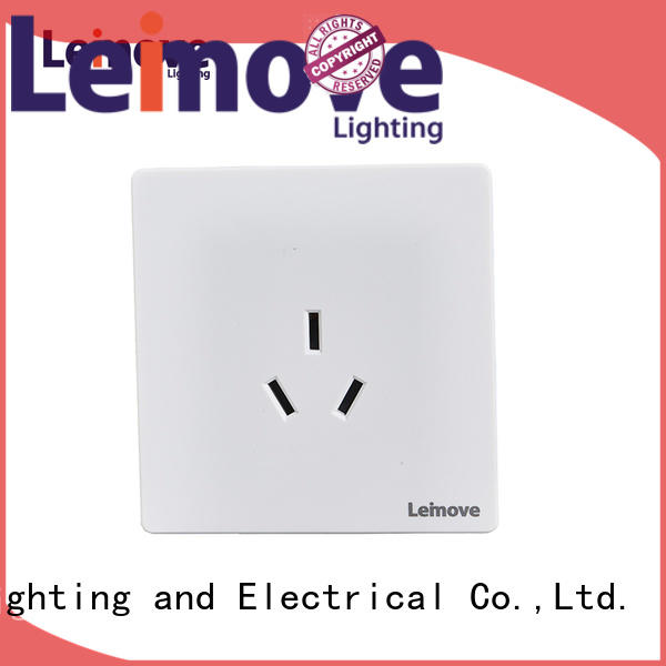 Leimove wire drawing outdoor power socket ODM factory price
