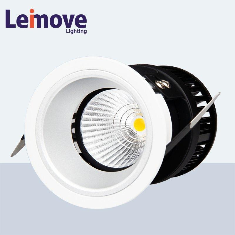 Leimove silver-gold led spot light ultra bright for decoration