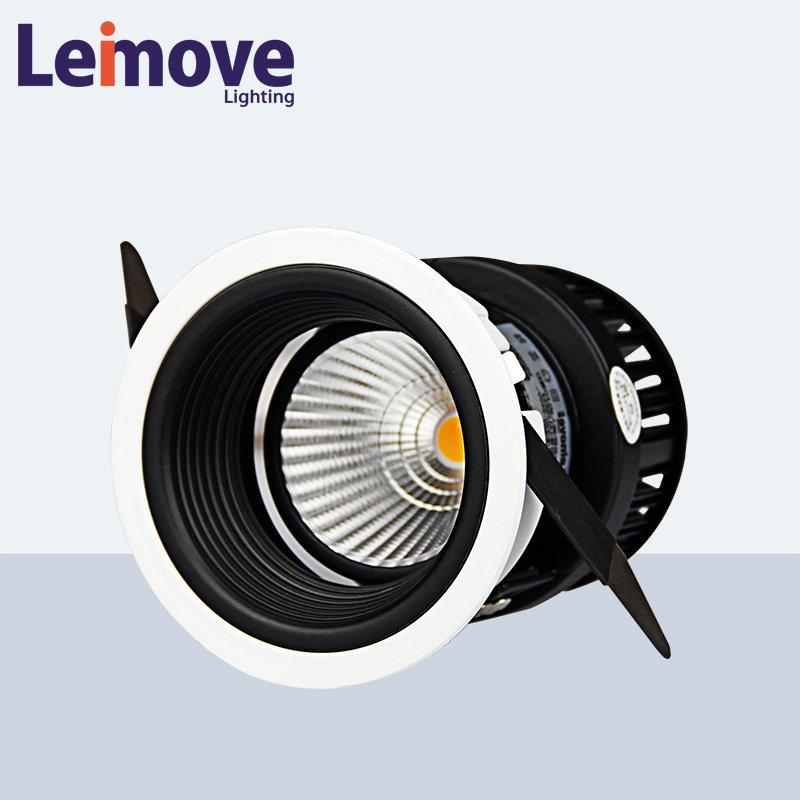 Leimove copper led track spotlights ultra bright