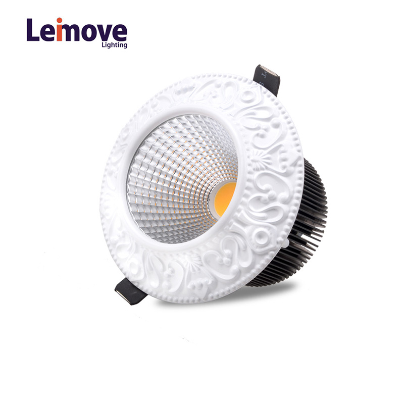 Leimove-Leimove 10w Slim Led Round DownlightLm8017 Matte Gold-3