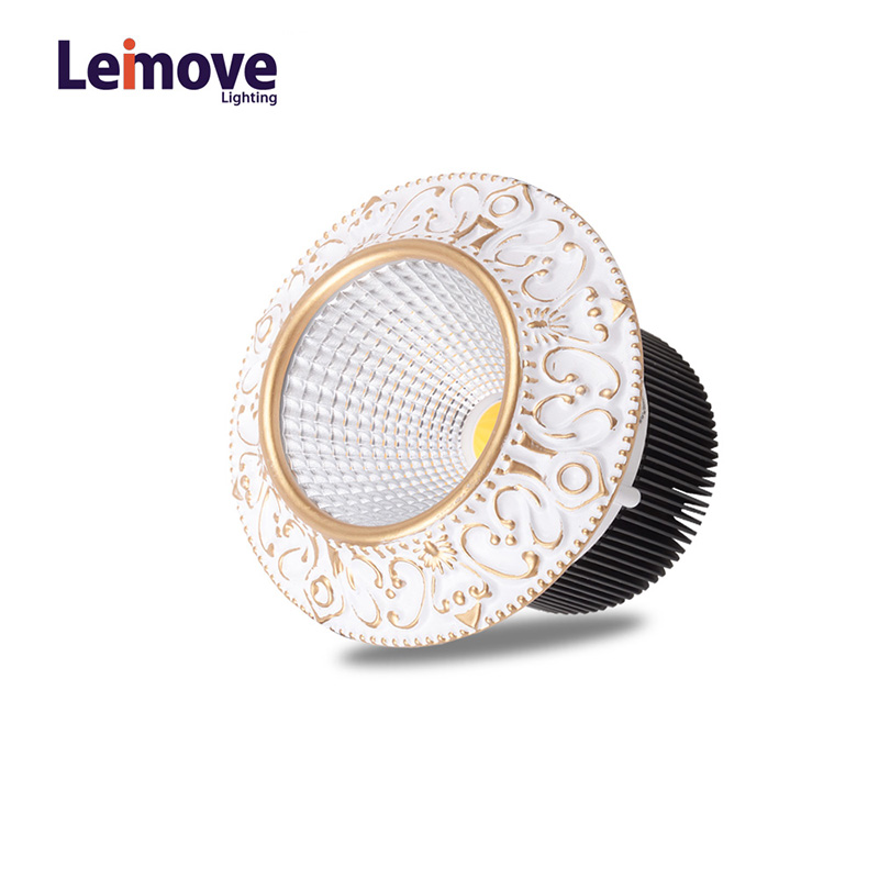 Leimove-Leimove 10w Slim Led Round DownlightLm8017 Matte Gold-4