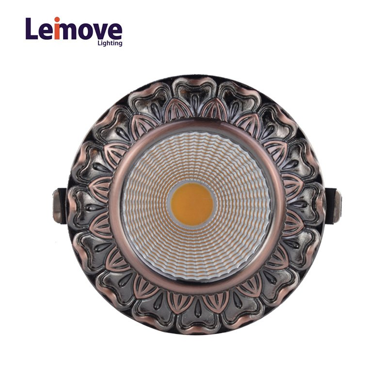 Leimove Decorative 10w gu10 Led Cob Downlight LM8019 matte whlte LED Spot Light image9