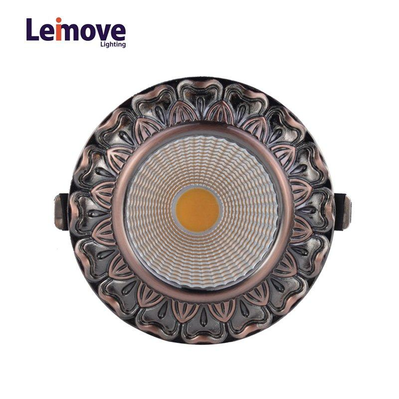 Leimove Energy-Saving LED Zinc Alloy Decoration Living Room Home Indoor light  LM8019 matte gold