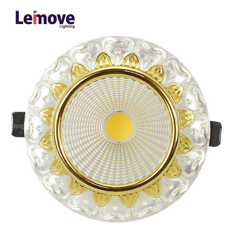 Leimove gold adjustable led spotlights ceiling for decoration-6