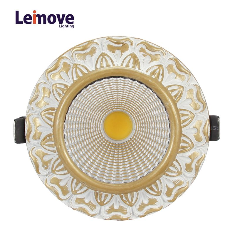 Leimove gold adjustable led spotlights ceiling for decoration-5