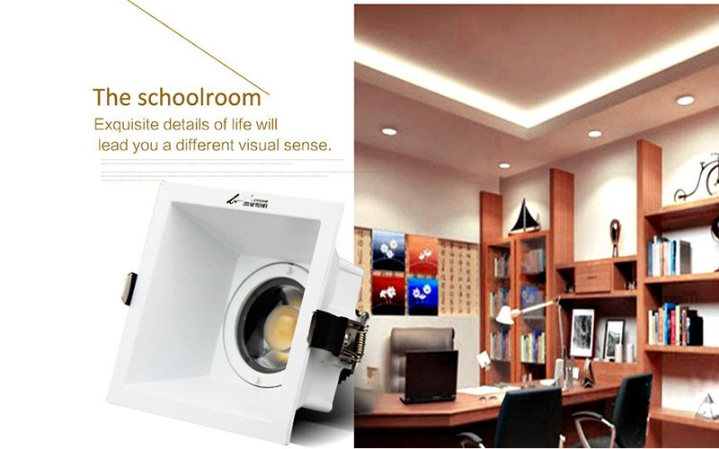 Leimove-Anti-glare Cri90 Flicker Free 500lm 5w Led Downlight | Leimove-5
