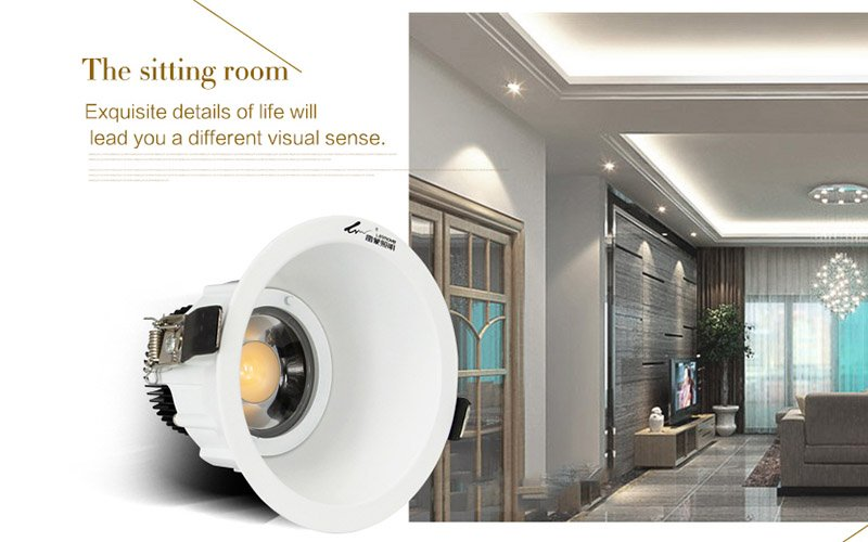 Leimove High quality led lighting factory hot sale 5w cob indoor led downlight  LM7002-4