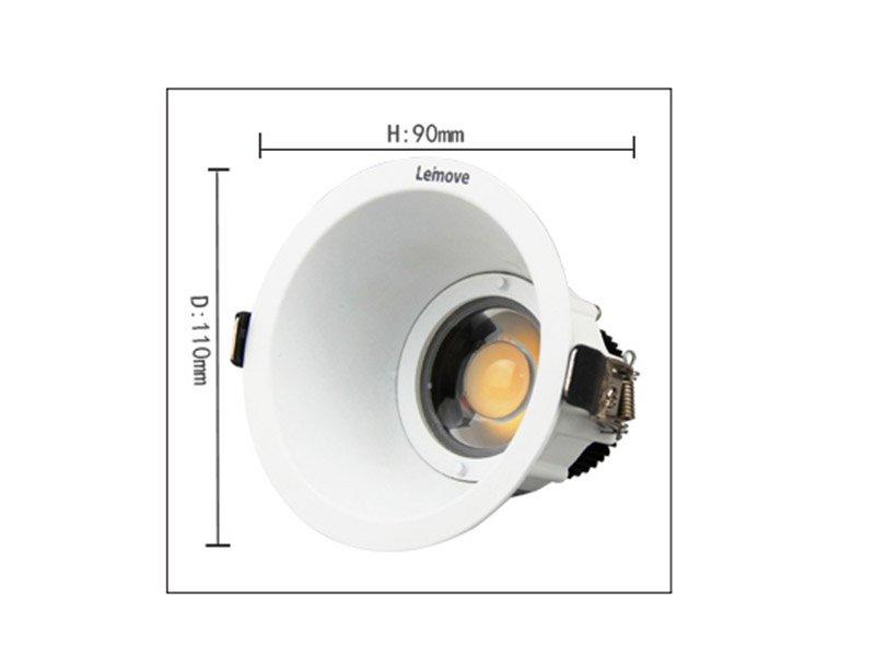 lighting outdoor led spot light whlte Leimove
