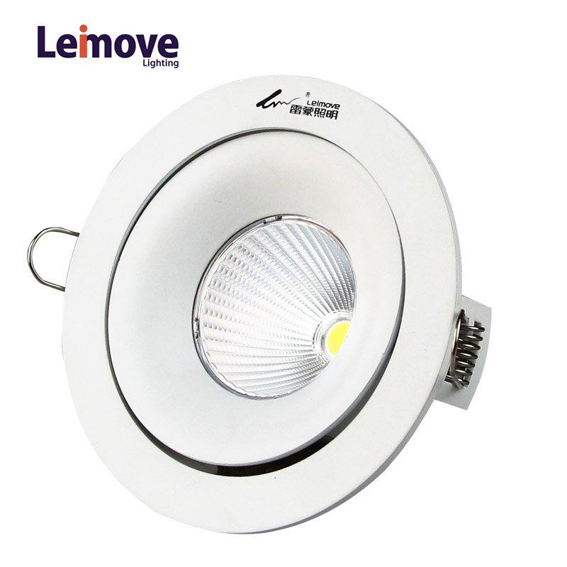 Leimove 2017 new COB AC100-240V Round LED downlight  LM8003 LED Spot Light image15