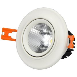 Leimove-White Led Spotlights 3w5w Cob Downlights Cerohs 3000k4000k6000kwith-5