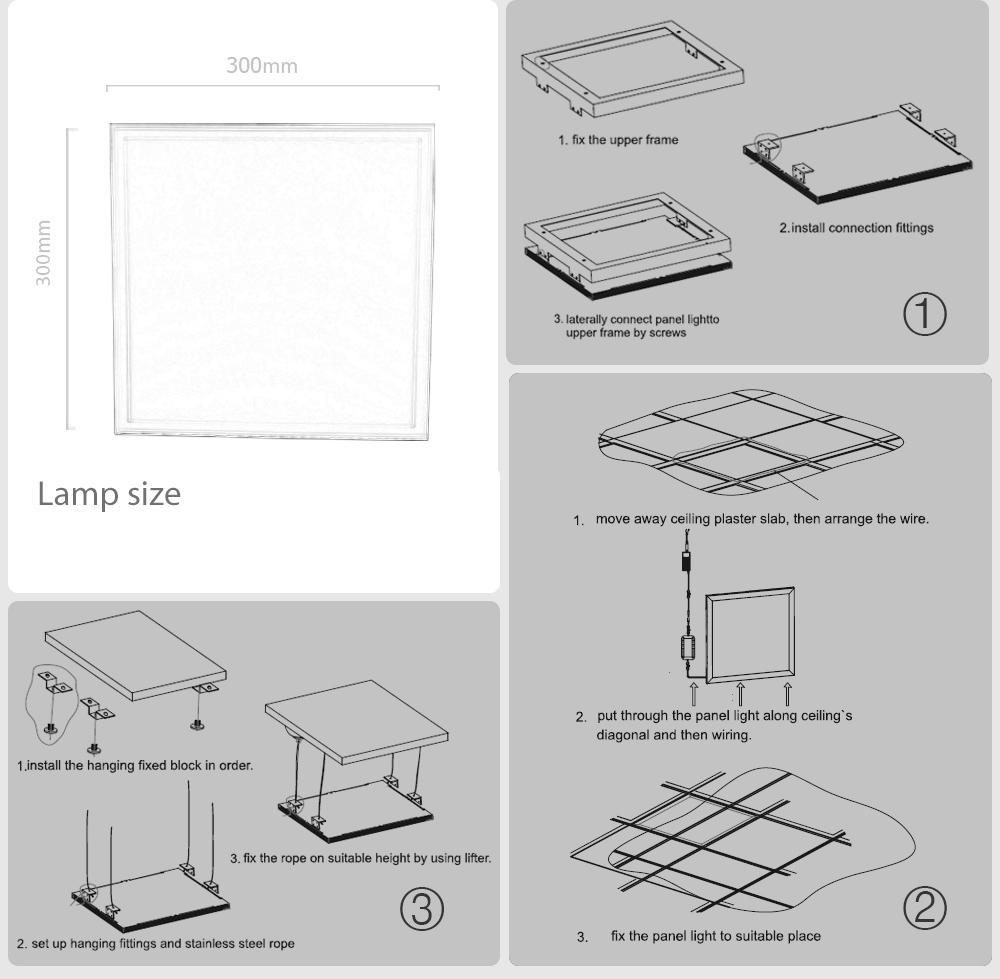 Leimove-Best Selling LED Ceiling Panels From Leimove Lighting-7