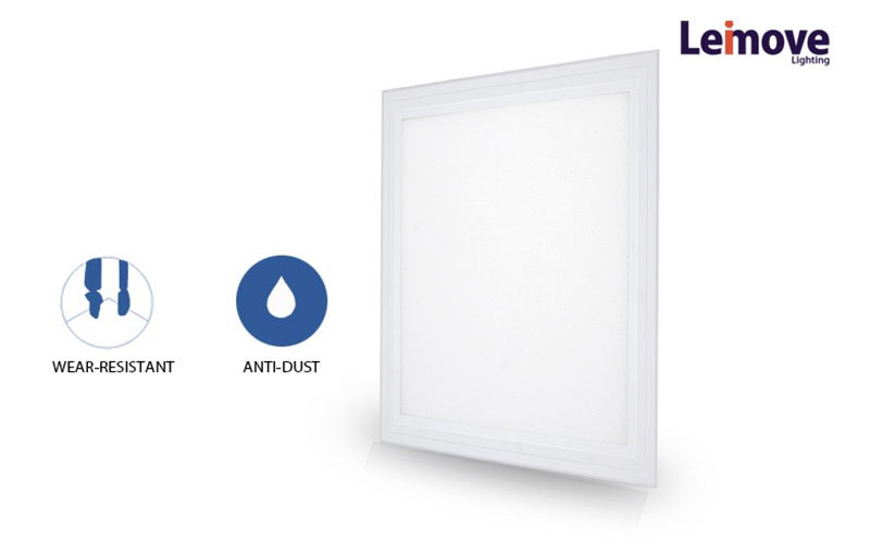 100-265V  600*600mm CE RoHS CCC Ra≥80 36W LED Panel Light   LM-PL0606QR-4