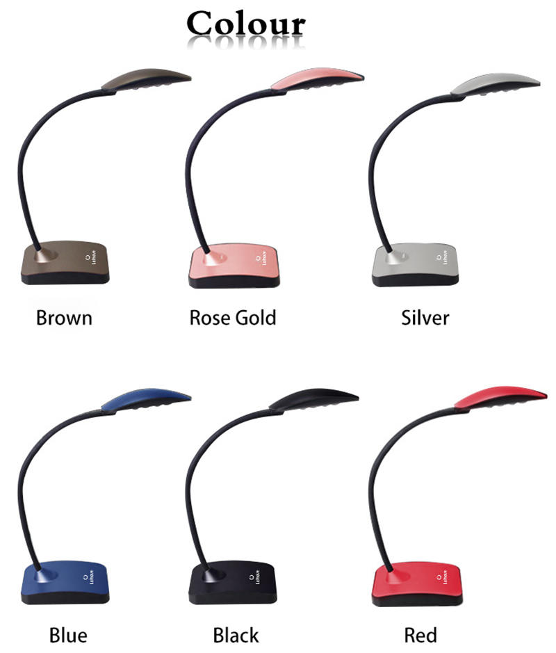 Leimove silver led office desk lamp by bulk for wholesale
