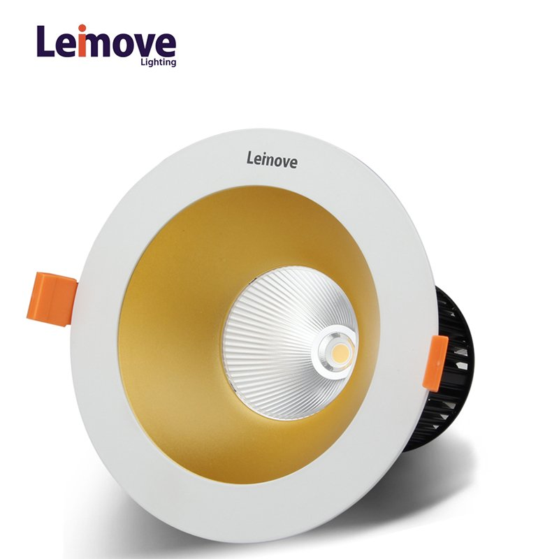 Leimove High luminance commercial recessed 15w cob led downlight  LM29842 LED Down light image3