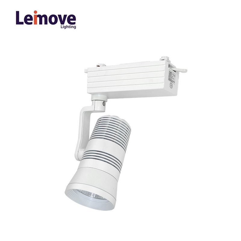 Leimove High CRI 30W Commercial Dimmable LED Track Lighting Fixture   LM-TG9013 LED Track Light image3