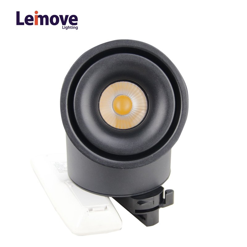 Leimove Lens Adjustable and CCT Switchable CE ETL Approved COB Led Track Light LM9219Q LED Track Light image1