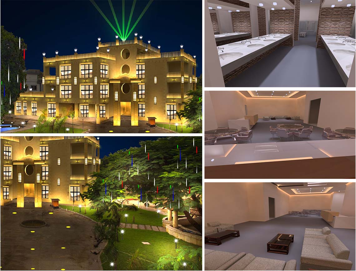 Leimove-Egyptian Villa Project Cas| Engineering Case | Leimove Lighting