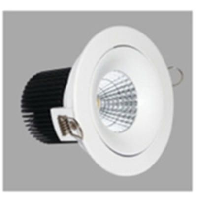 gold spot led gu10 round shape recessed for wholesale