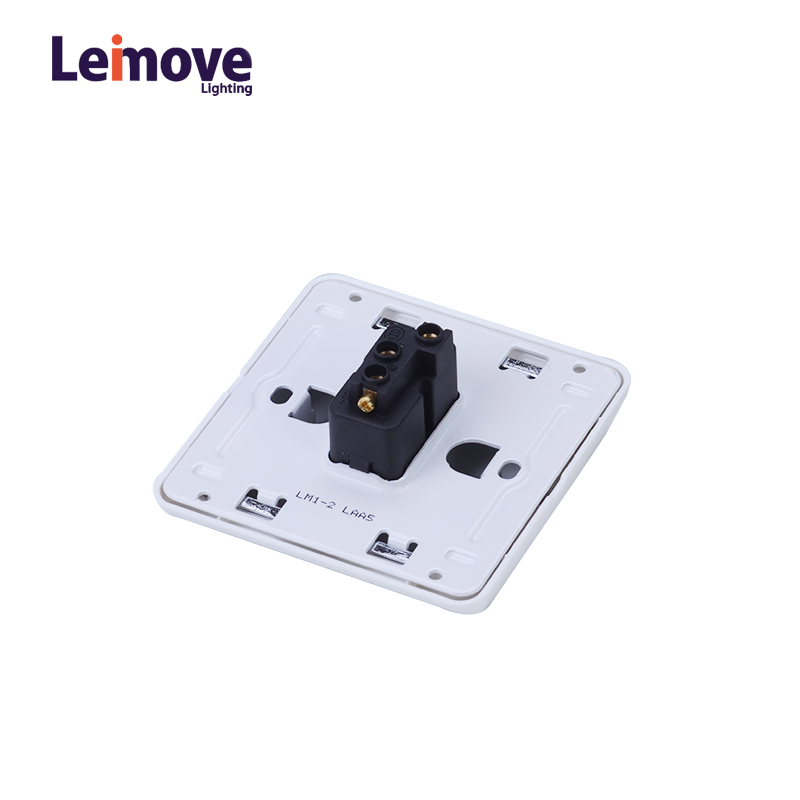 Leimove 10A One Gang 2 Way Electrician Wall Switch Ling Xuan White Series image43