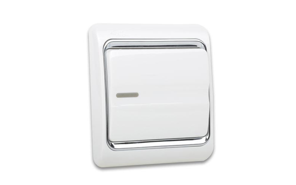 Leimove-10A One Gang 2 Way Electrician Wall Switch - Leimove Lighting-6