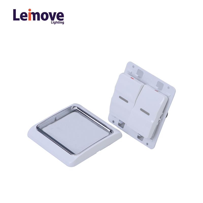 Leimove-modular light switches | A White Series | Leimove-1