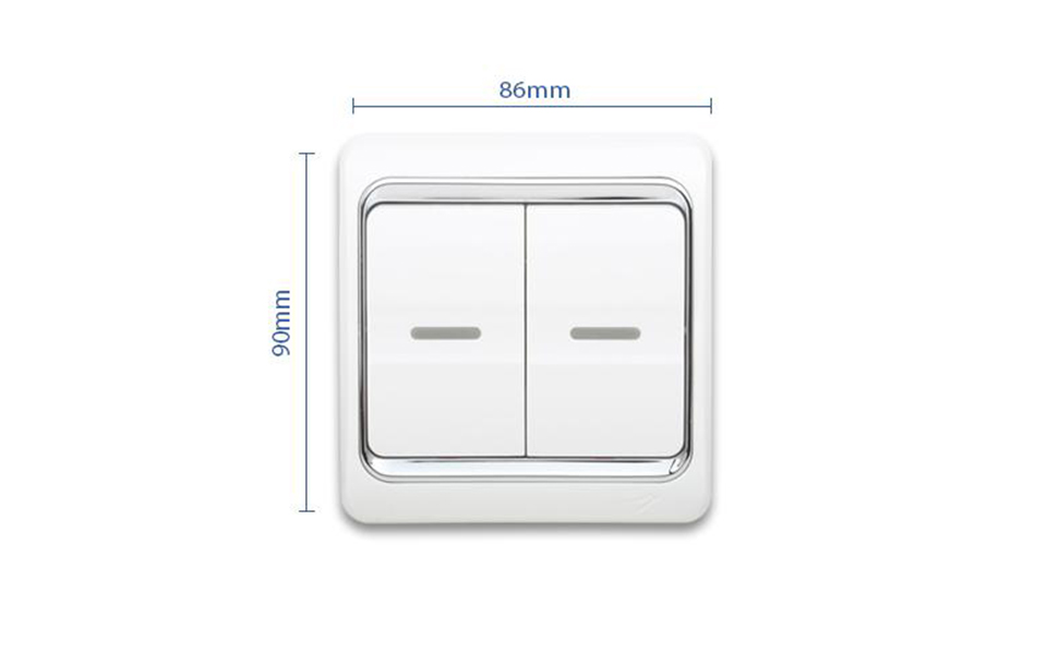 Leimove-Three Year Warrant 13a 2 Gang 1 Way Switch | Leimove Lighting-5