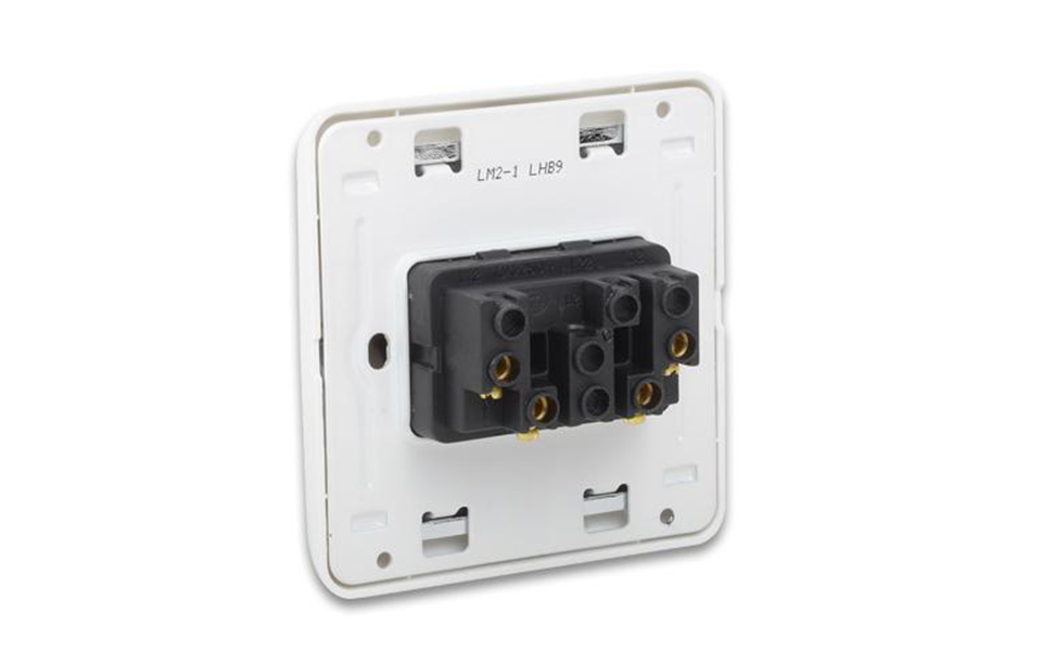 Leimove-Three Year Warrant 13a 2 Gang 1 Way Switch | Leimove Lighting-7