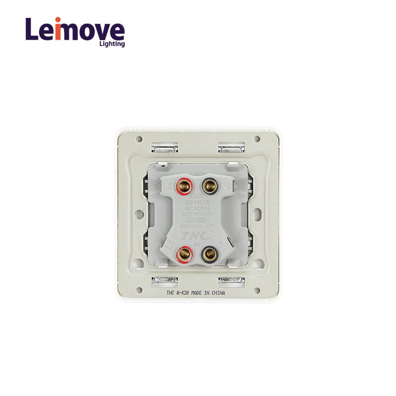 Leimove-2017 8686 20A 1 Gang 1 way Wall Switch