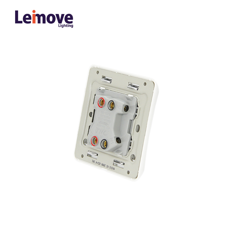 Leimove-2017 8686 20A 1 Gang 1 way Wall Switch-1