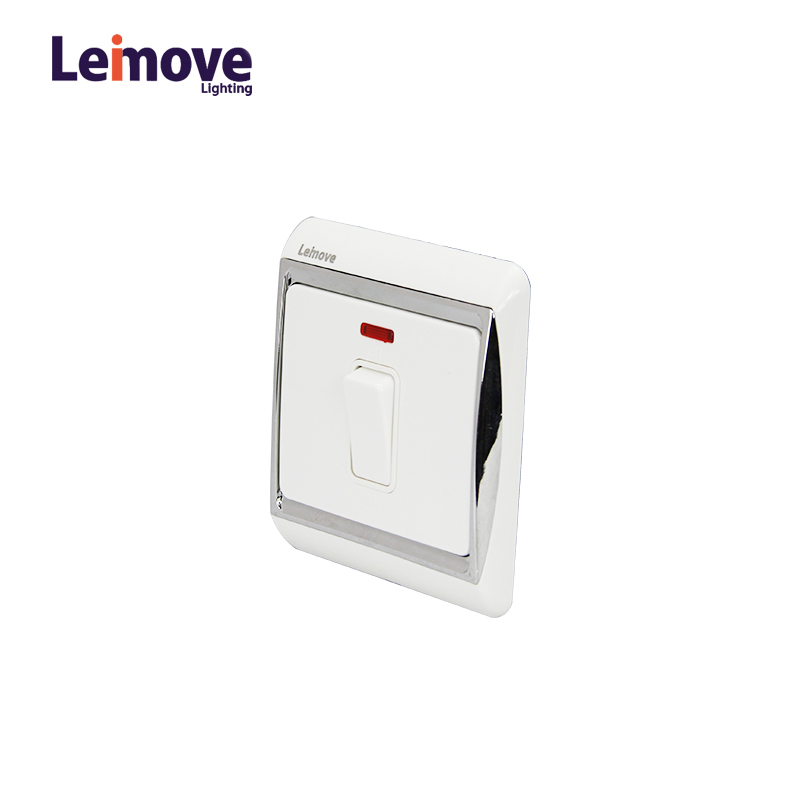 Leimove 2017 86*86 20A 1 Gang 1 way Wall Switch Ling Xuan White Series image39