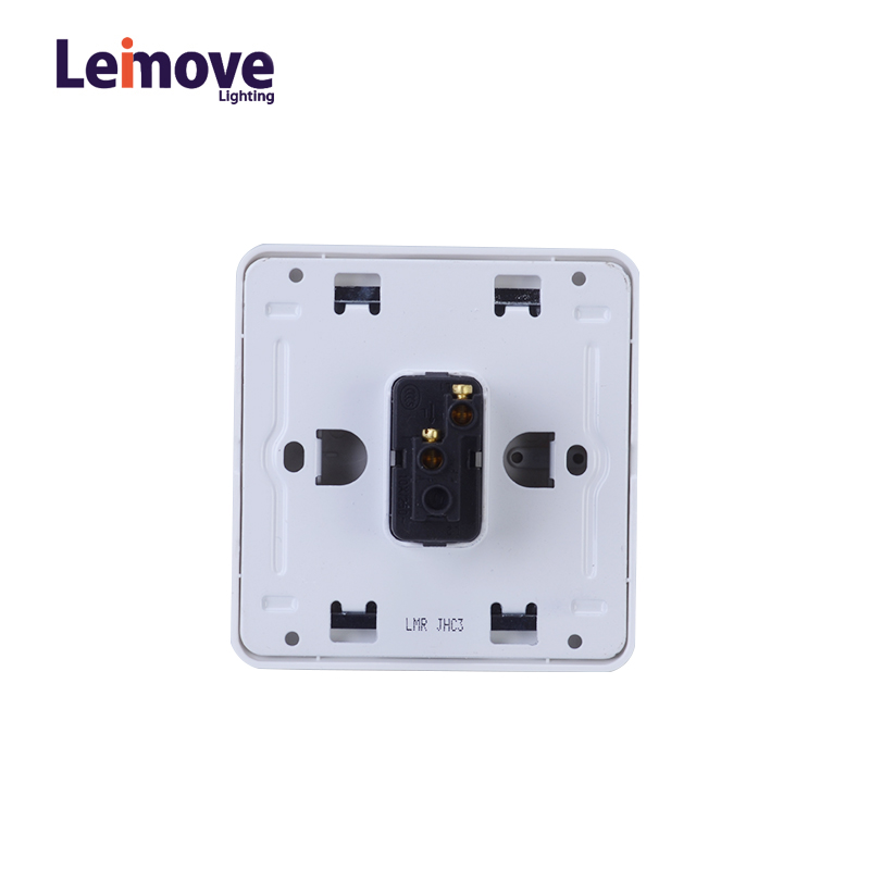 Leimove 10A One Way 1 gang Door Bell Wall Switch Ling Xuan White Series image1
