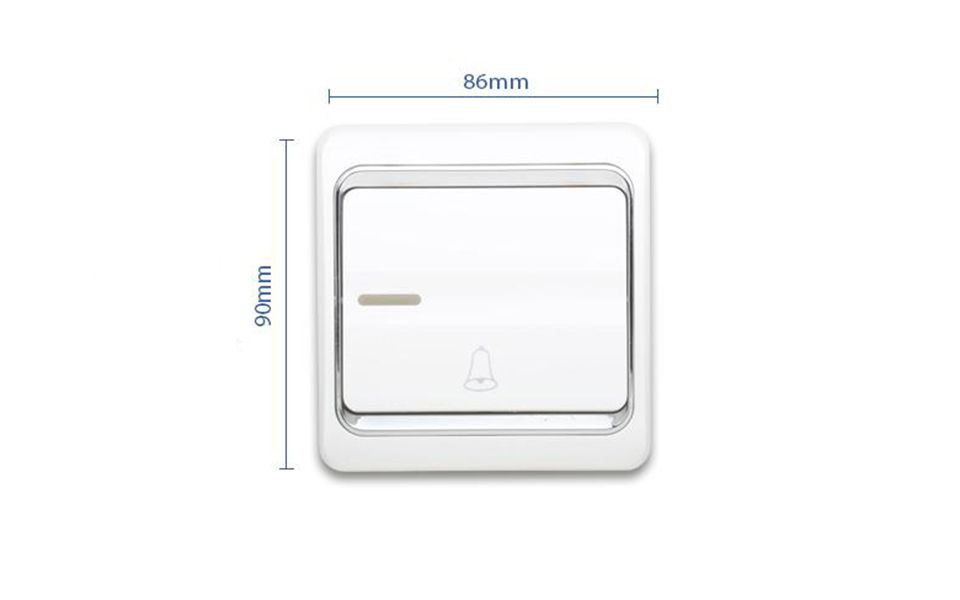 Leimove-10a One Way 1 Gang Door Bell Wall Switch | Leimove Lighting-5