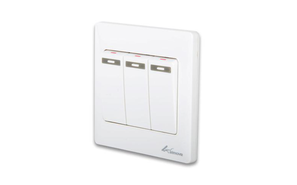Leimove-Electric Home 3 Gang One Way Wall Switch | Leimove-6