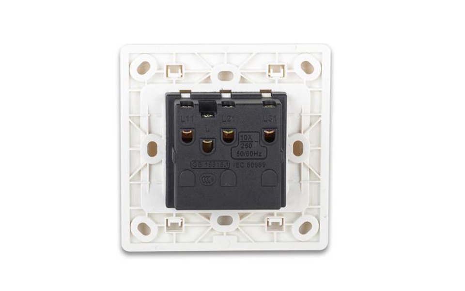 Leimove-Electric Home 3 Gang One Way Wall Switch | Leimove-7