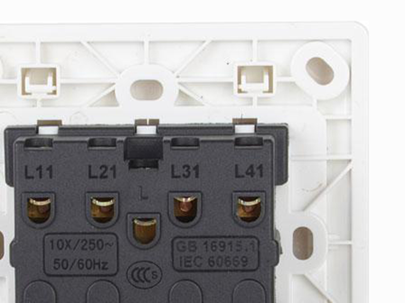 Leimove-High-quality 4 Gang 1 Way Electrical Wall Switch | Leimove-3
