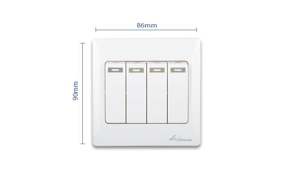 Leimove-High-quality 4 Gang 1 Way Electrical Wall Switch | Leimove-5