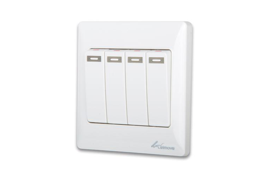 Leimove-High-quality 4 Gang 1 Way Electrical Wall Switch | Leimove-6