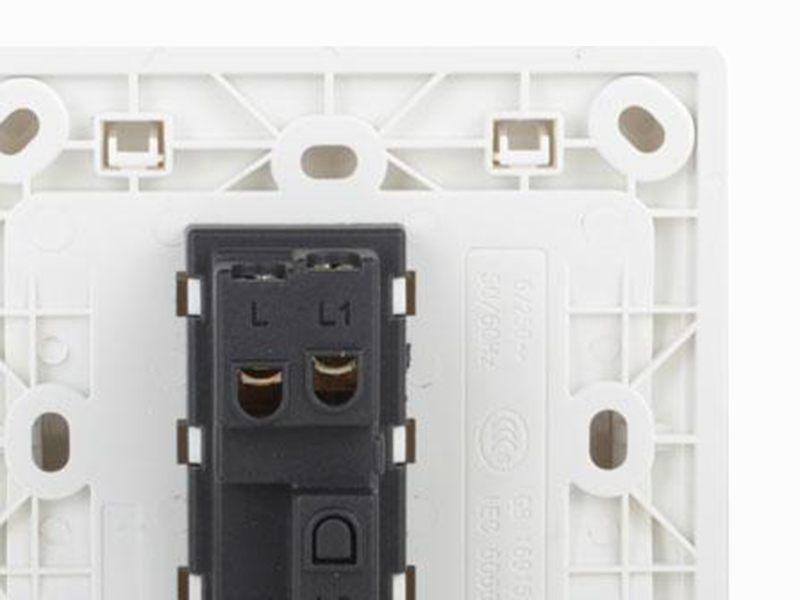 Leimove white light switches and sockets bulk order for wholesale-4