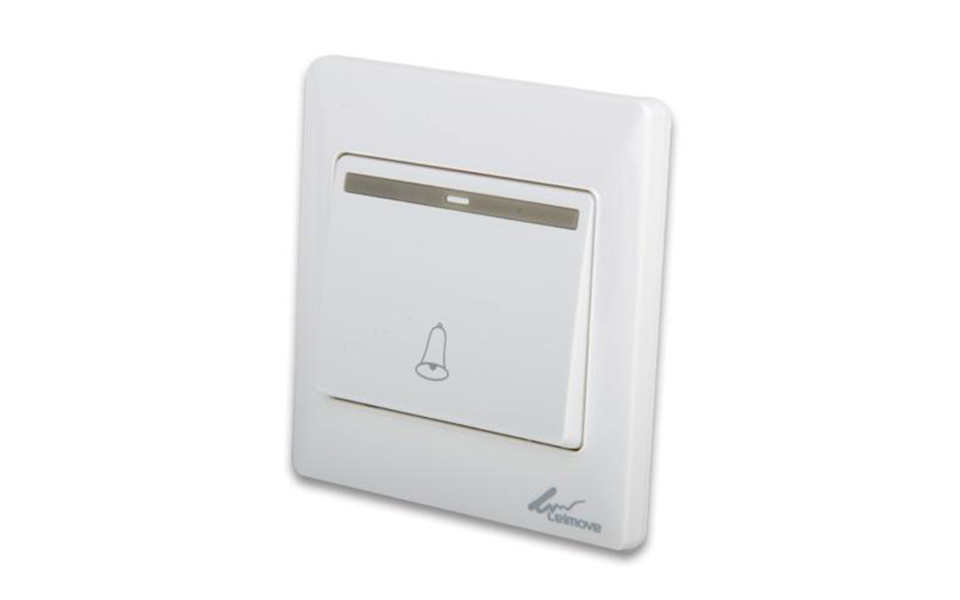 Leimove-One Way White Door Bell Wall Switch | Leimove-6
