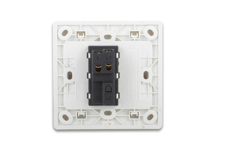 Leimove-Power Switches | 10a 250v One Way White Door Bell Wall Switch 8686 - Leimove-7